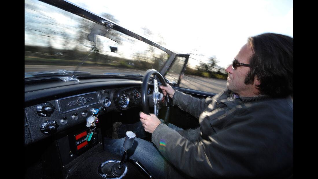 MG B, Cockpit, Michael Schröder