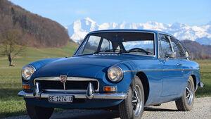 MG B GT 1974 Oldtimer Auktion Toffen
