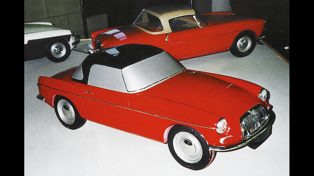 MG B, Prototyp
