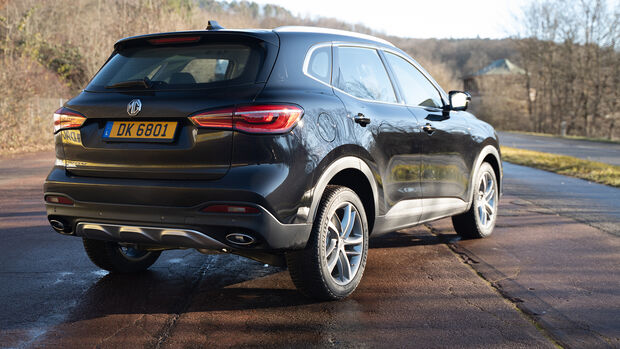 MG EHS Plug-In-Hybrid SUV Fahrbericht 2020