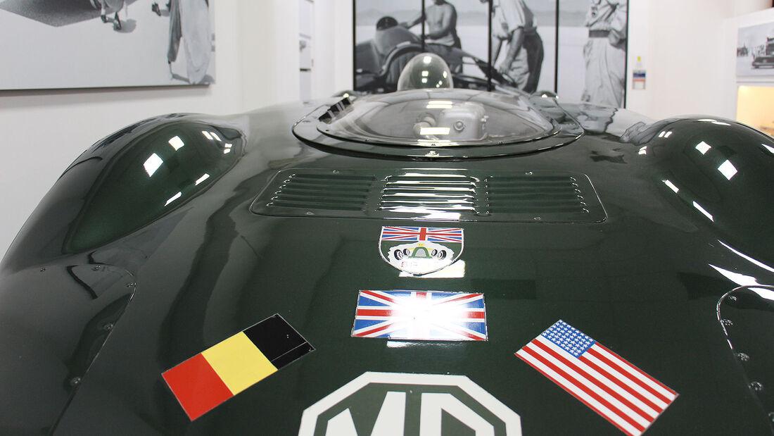 MG EX135 Rekordwagen im British Motor Museum