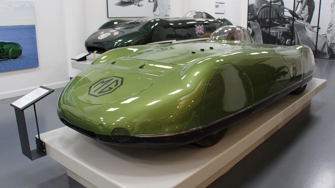MG EX179 Rekordwagen im British Motor Museum