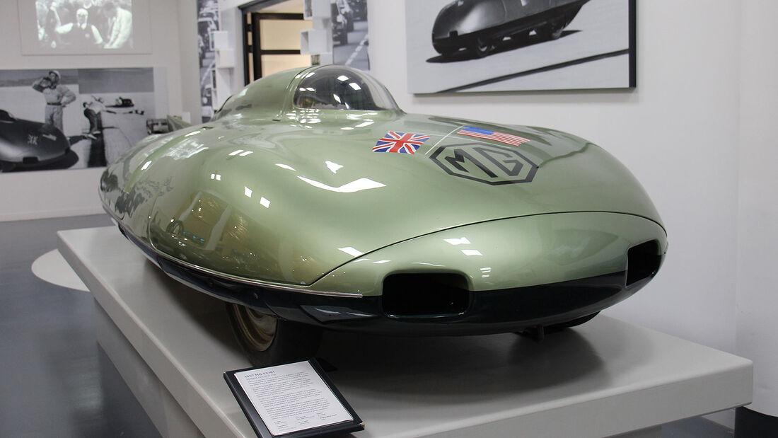 MG EX181 Rekordwagen im British Motor Museum