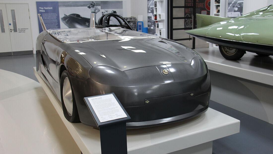 MG EX255 Rekordwagen im British Motor Museum
