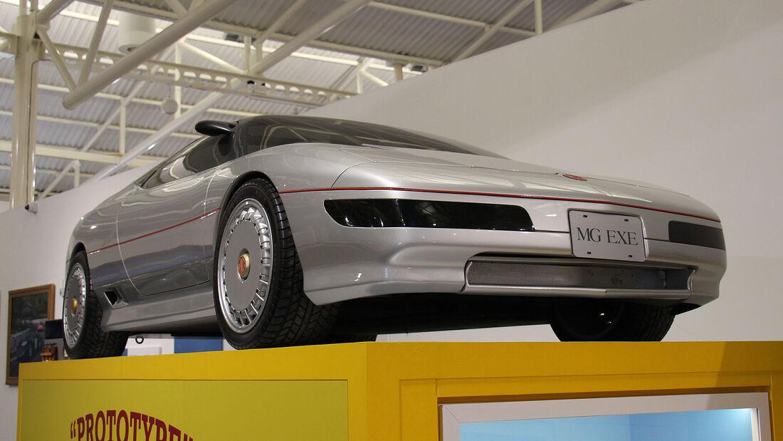 MG EXE Prototyp im British Motor Museum