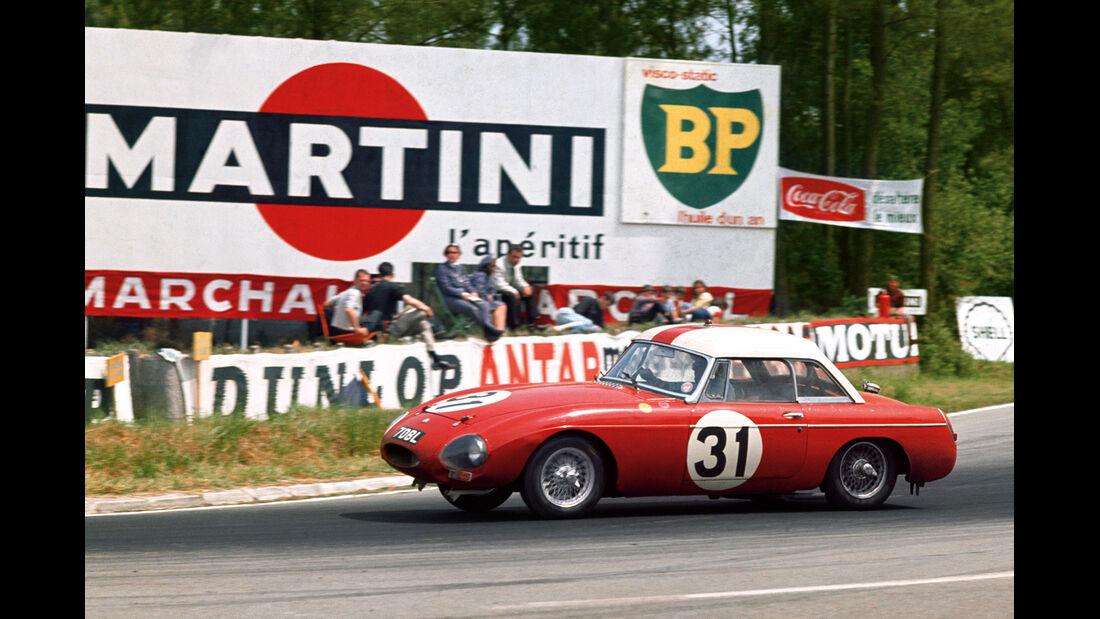 MG, Le Mans, Alan Hutcherson
