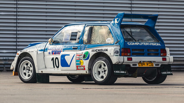 MG Metro 6R4 1986 - Silverstone Auctions