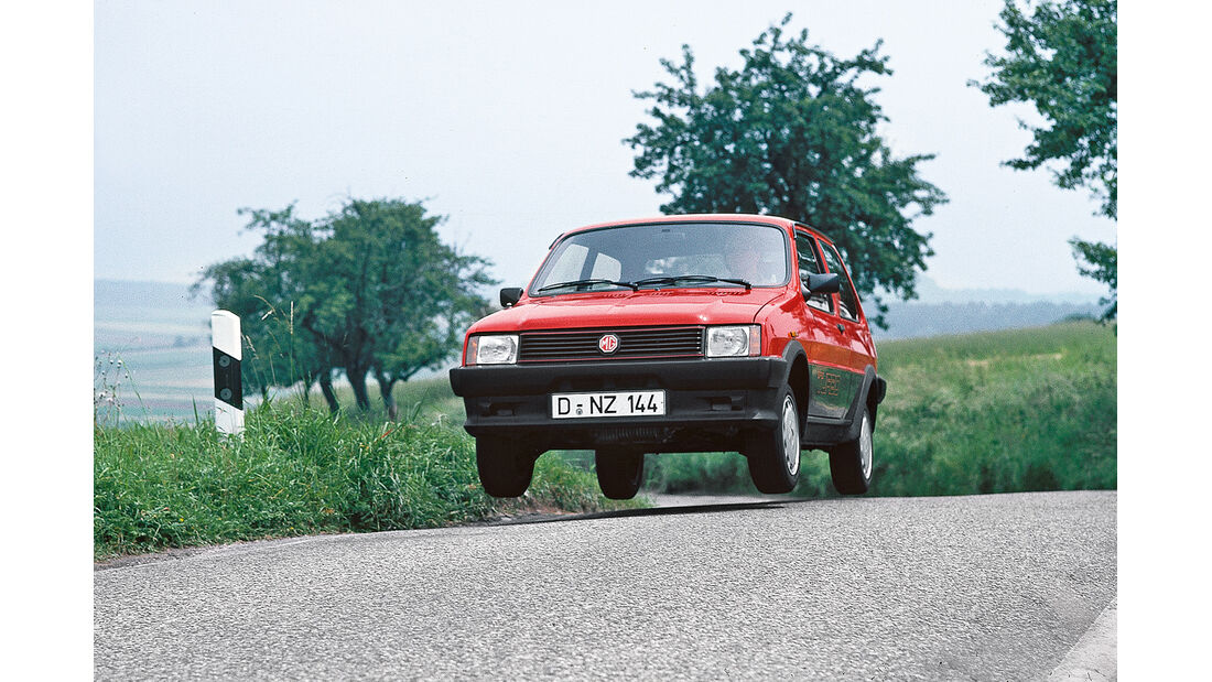 MG Metro, Frontansicht