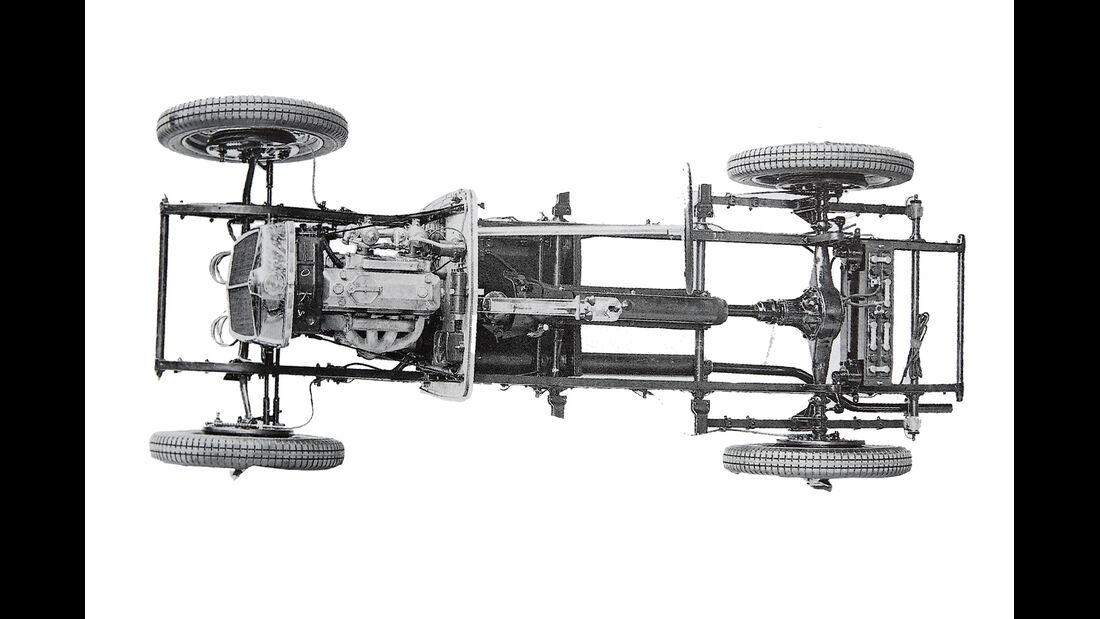 MG PA, Chassis