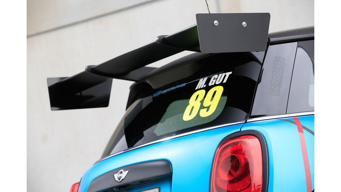 MG-Performance-Mini JCW, Dachspoiler
