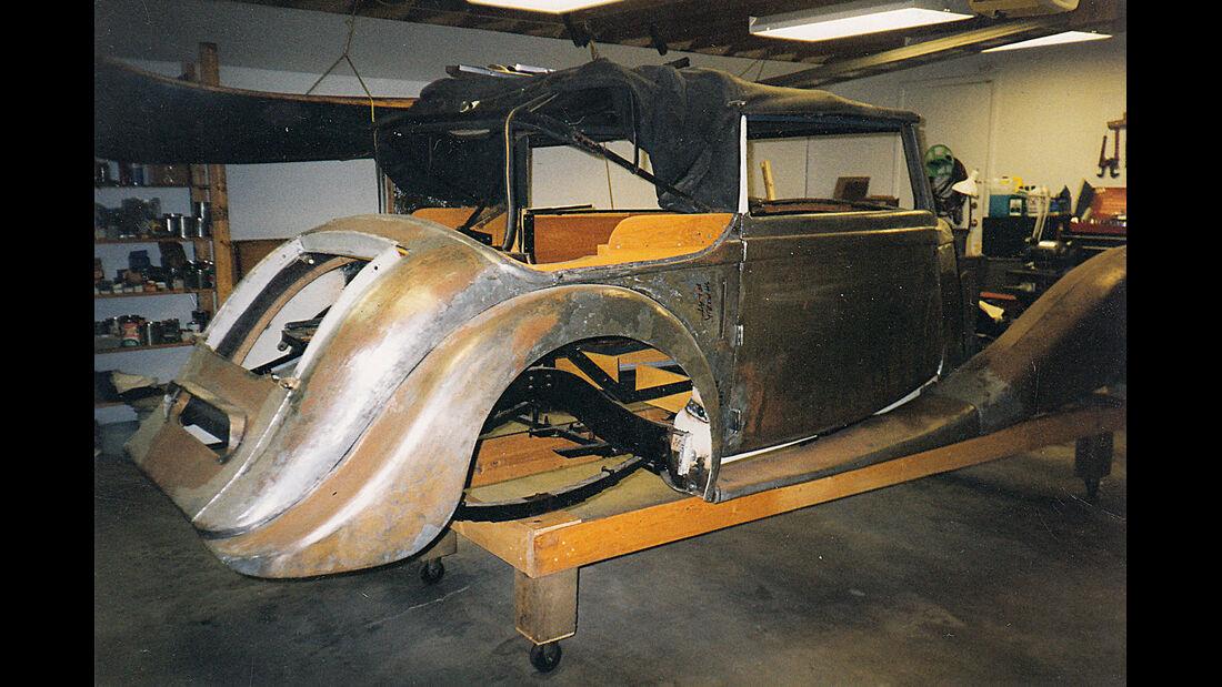 MG SA Tickford DHC, Chassis