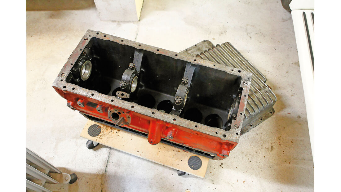 MG SA Tickford DHC, Getriebeüberholung