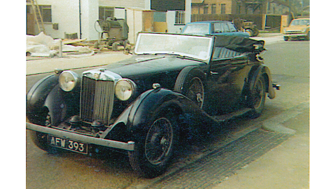 MG SA Tickford DHC, Seitenansicht
