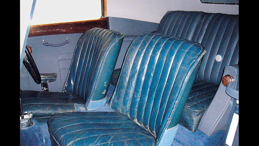 MG SA Tickford DHC, Sitze