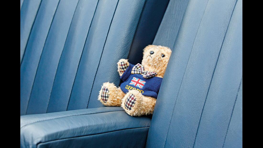 MG SA Tickford DHC, Sitze, Detail, Bär