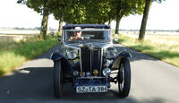 MG TA Tickford, Baujahr 1937