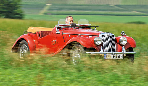 MG TF 1500, Frontansicht