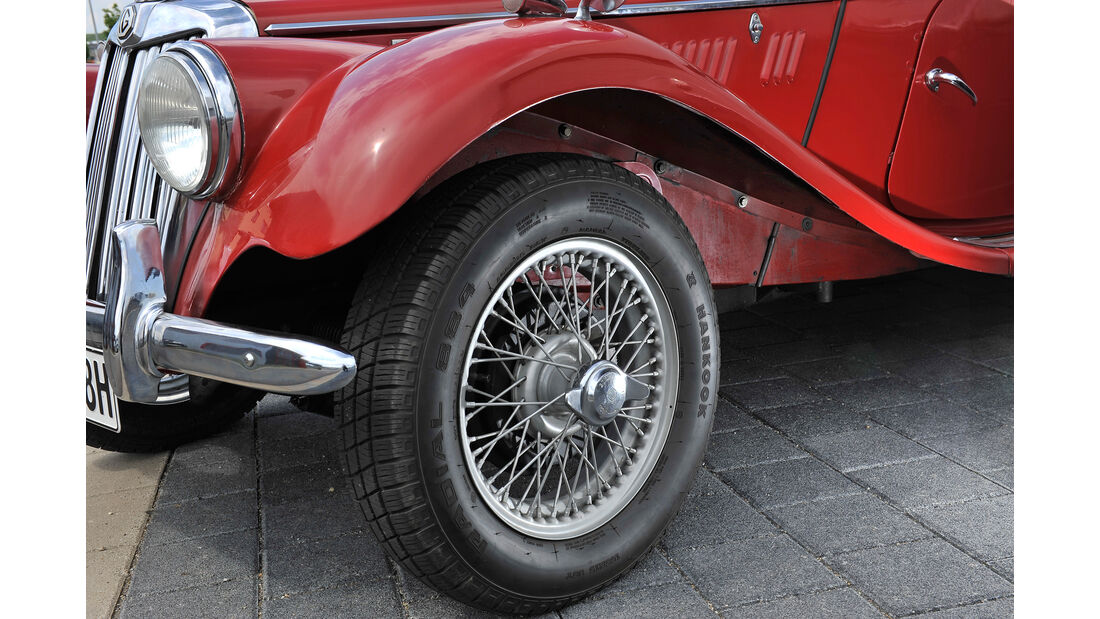 MG TF 1500, Rad, Felge