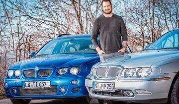 MG ZT 190 Rover 75
