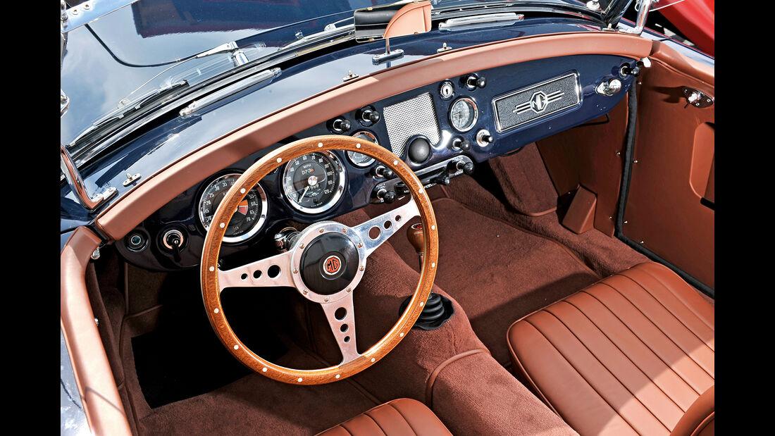 MGA 1500, Cockpit