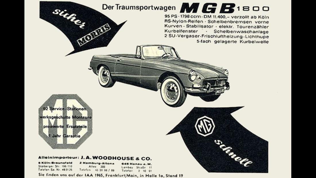 MGB, 1800, IAA 1965