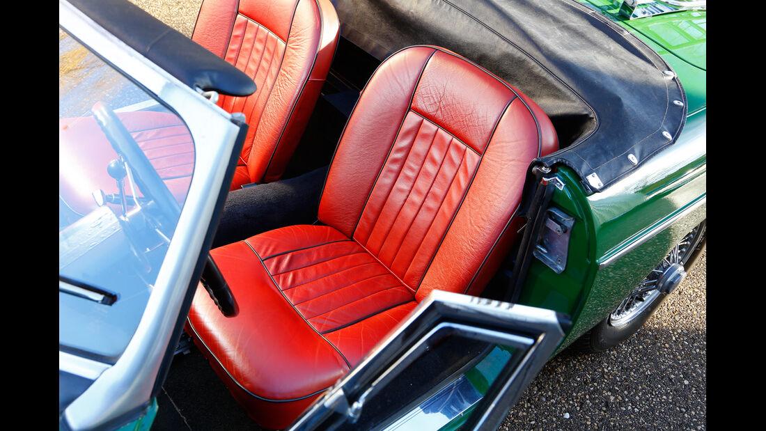 MGB MK II, Fahrersitz