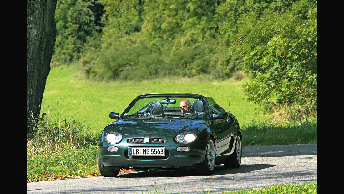 MGF 1.8i, Frontansicht