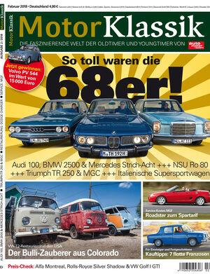 MKL Motor Klassik Heft 02/2018 Cover