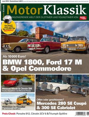 MKL Motor Klassik Heft 06/2018 Cover