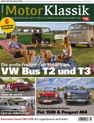 MKL Motor Klassik Heft 10/2018 Cover