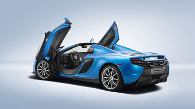 MSO 650 S Spider, McLaren, Pebble Beach 2014
