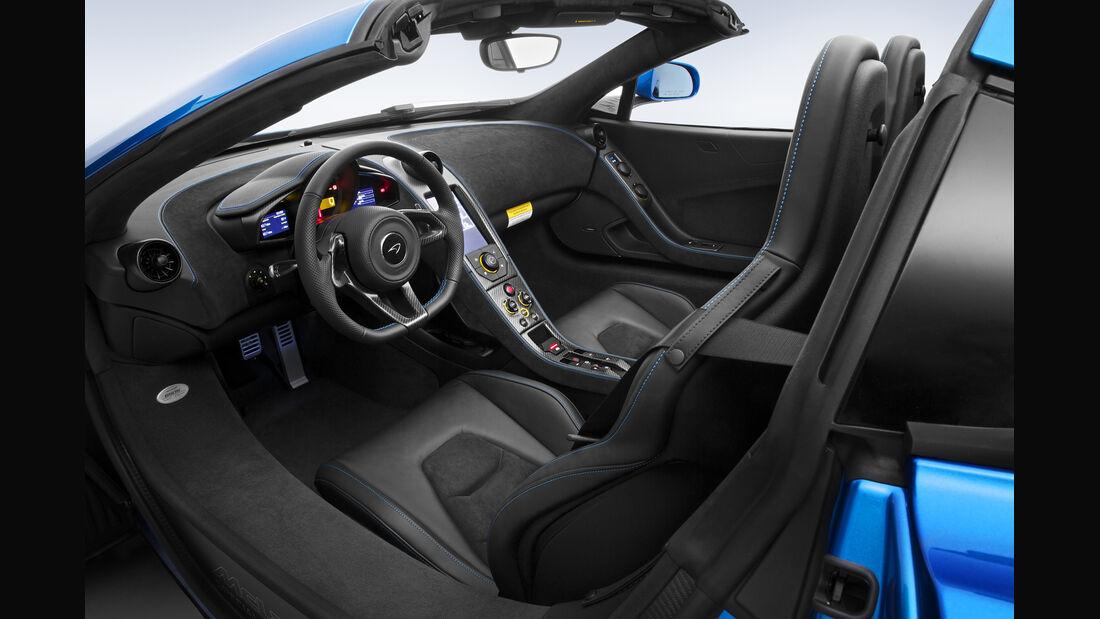 MSO 650 S Spider, McLaren, Pebble Beach 2014, Innenraum