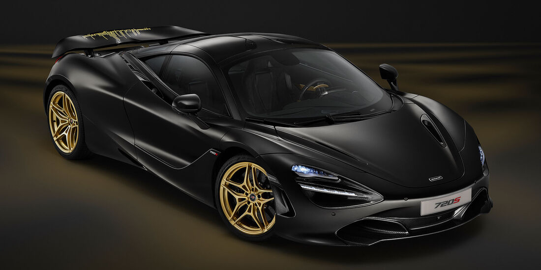 MSO McLaren 720S Black and gold