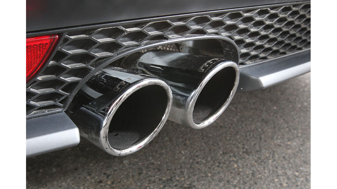 MTM Audi A1 Auspuff