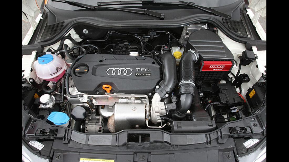 MTM Audi A1 Motorraum