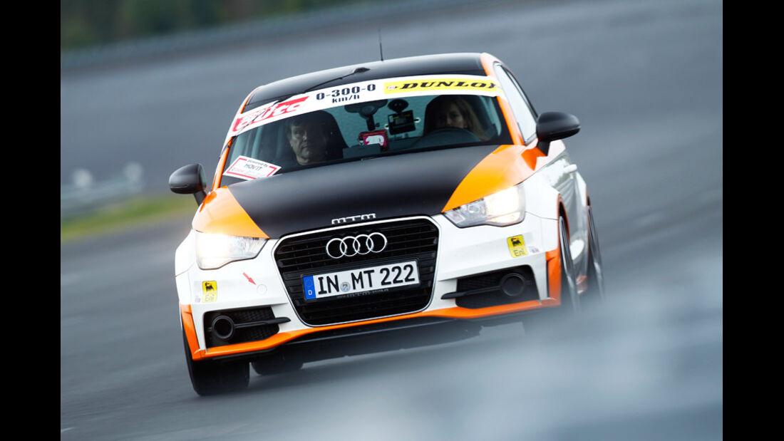 MTM Audi A1 Nardo Edition 0-300-0 Beschleunigungs- & Bremsduell