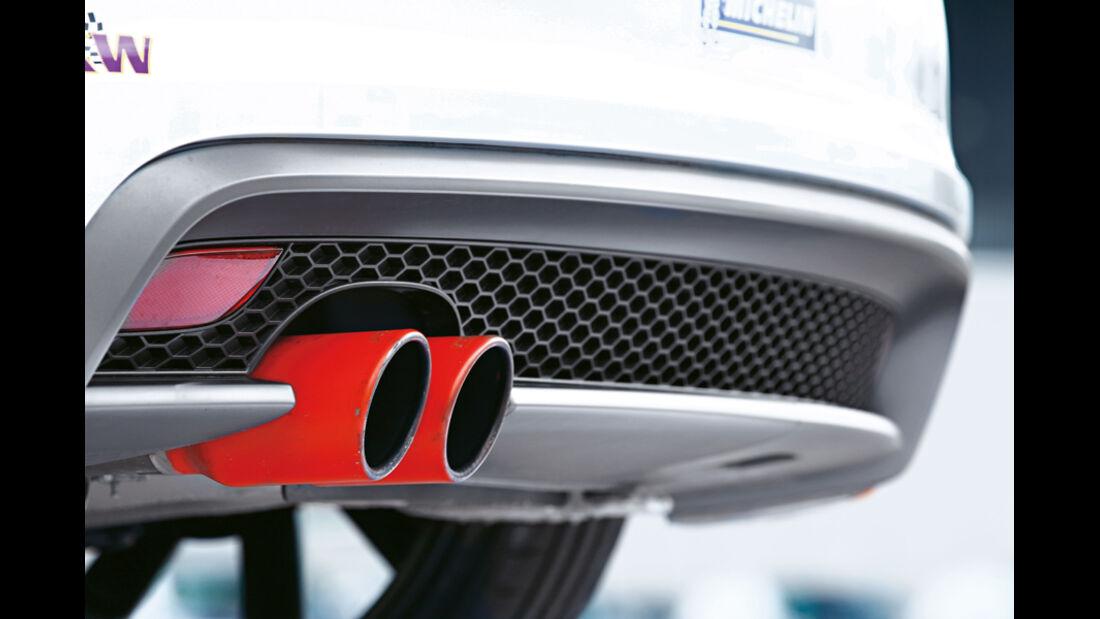 MTM-Audi A1 Nardo Edition, Auspuff