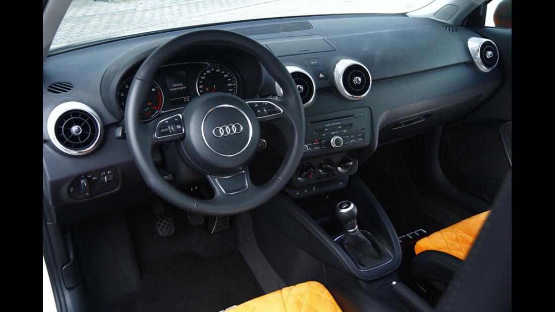 MTM-Audi A1 Nardo Edition, Cockpit, Lenkrad