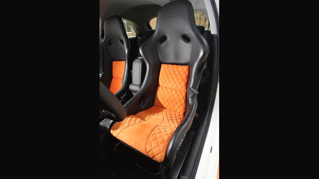 MTM-Audi A1 Nardo Edition, Fahrersitz