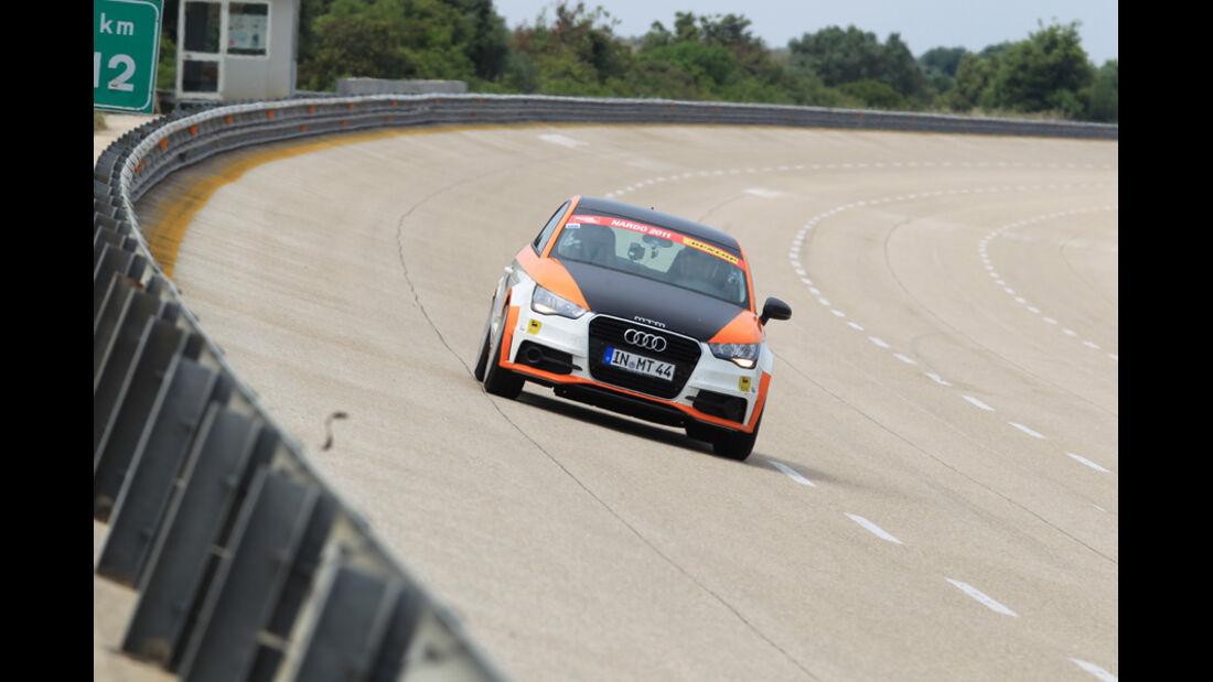 MTM-Audi A1 Nardo Edition, Frontansicht, Steilkurve