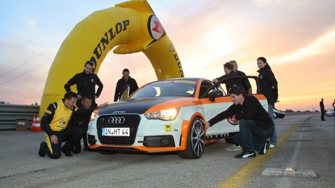 MTM-Audi A1 Nardo Edition, Frontansicht, Team