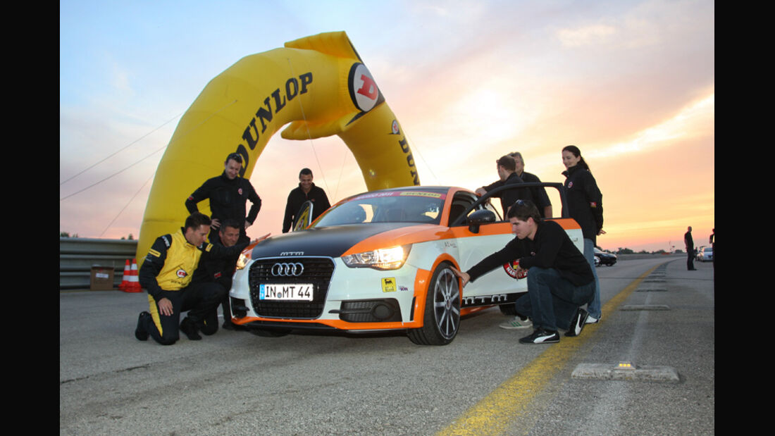 MTM-Audi A1 Nardo Edition, Frontansicht, Team