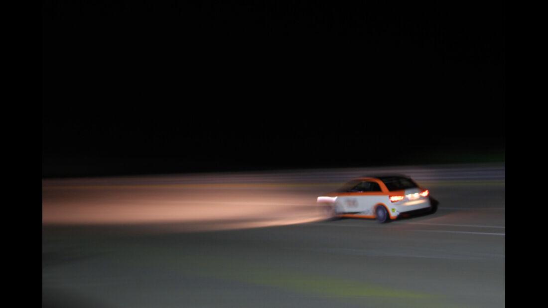 MTM-Audi A1 Nardo Edition, Seitenansicht, Nacht
