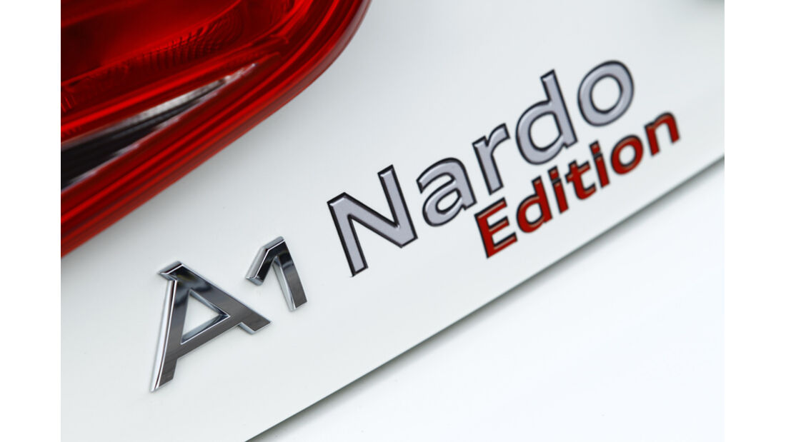 MTM-Audi A1 Nardo Edition, Typenbezeichnung, Schriftzug