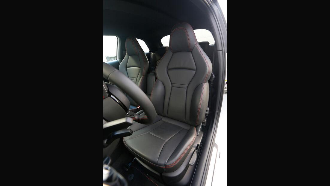MTM-Audi A1 quattro, Fahrersitz