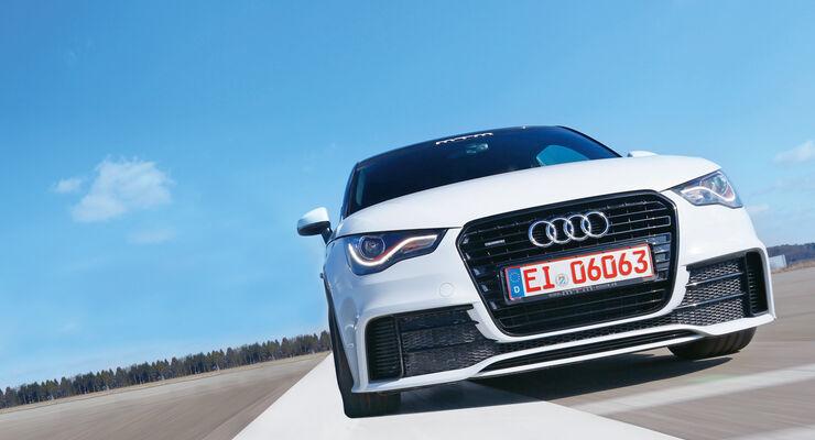 MTM-Audi A1 quattro, Frontansicht