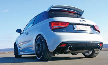 MTM-Audi A1 quattro, Heckansicht
