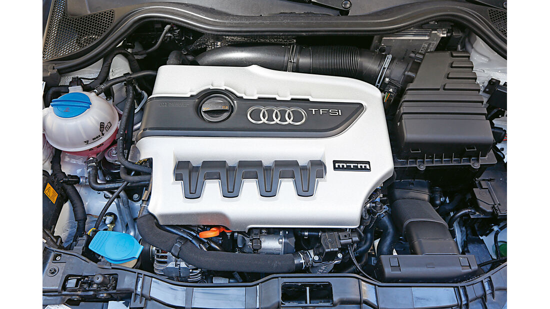 MTM-Audi A1 quattro, Motor