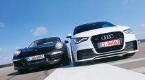 MTM-Audi A1 quattro, Porsche 911, Frontansicht