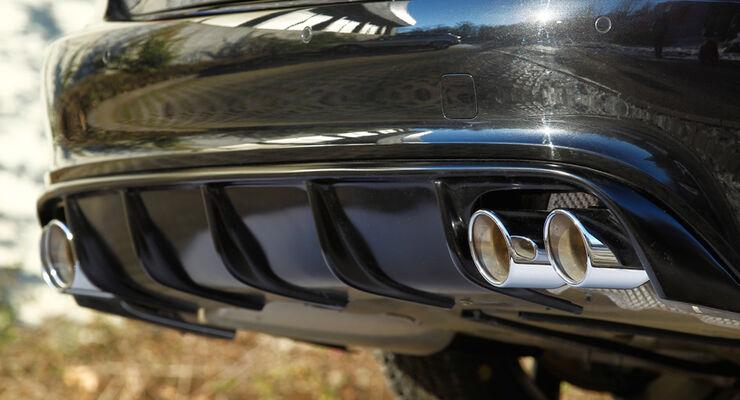 MTM-Audi A7 Sportback 3.0 TDI, Auspuff, Vier-Rohr-Abgasanlage